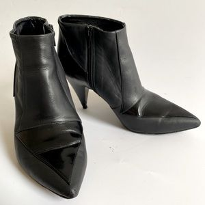 37 PIERRE HARDY PATENT LEATHER HEELS BOOTS SHOES